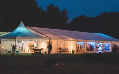 Royston Marquee in Cambridshire