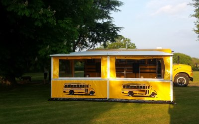 MY-WAY Kitchen bus with marquee