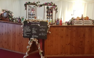 Double bar wedding package