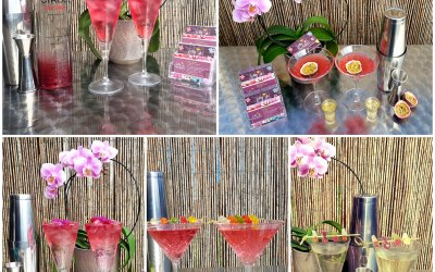 Some of our yummy new cocktails:)
