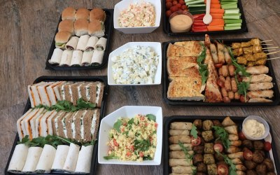 Mini Family/Friends Buffet with Salads