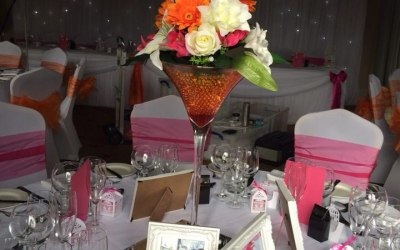 centrepiece hire from £5.00