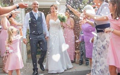 Wedding at Langtons Registry Office