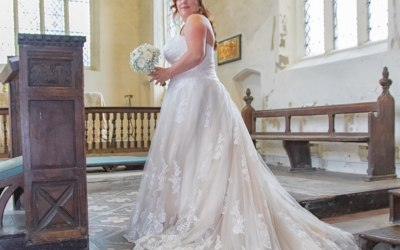 Wedding at St Lawrence's, Great Waldingfield