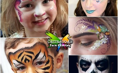 Cazzadoodle Face Painting 1