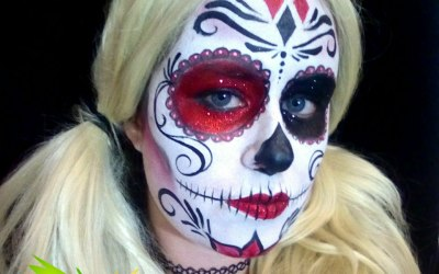 Cazzadoodle Face Painting 2