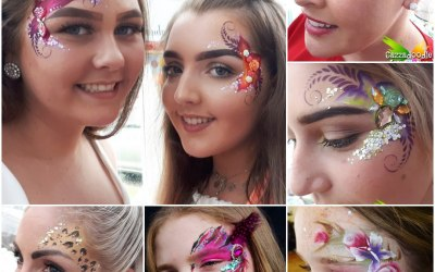 Cazzadoodle Face Painting 6