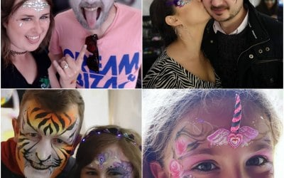 Cazzadoodle Face Painting 7
