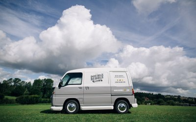 Double Bubble Prosecco Van