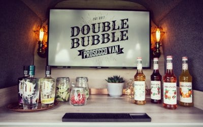 Double Bubble Prosecco Van