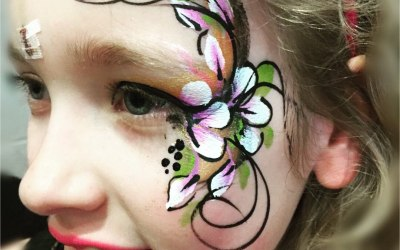 Glitzy Facepainting 4