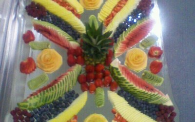 Fruit mirror work.
