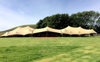 Bedouin Stretch Tent Event Wales