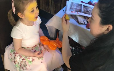 Face Painting - Christening