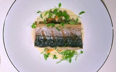 Mackerel, moules marinieres