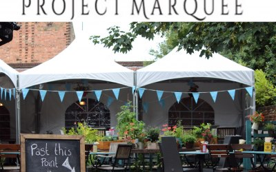 Christening marquees
