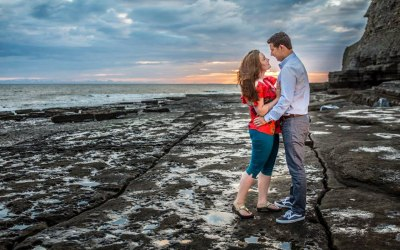 Southerndown Beach Engagement