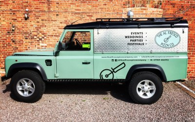 Wood Fired Pizza Land Rover East Midlands