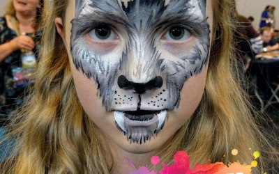 Glittercreep Face and Body Art 1