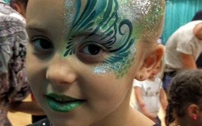 Glittercreep Face and Body Art 3