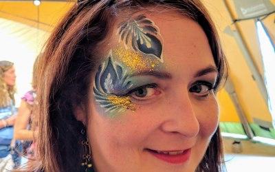 Glittercreep Face and Body Art 4