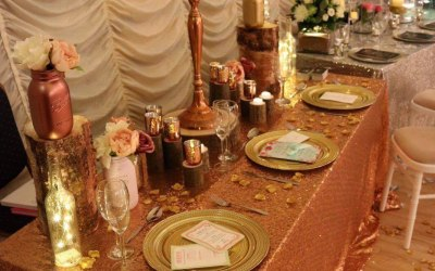 Sequin Tablecloths & Runners