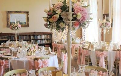 Gold and Pink- Elizabeth Weddings