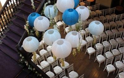 Paper Lantern installation