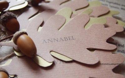 Natural Acorn place name- Elizabeth Weddings