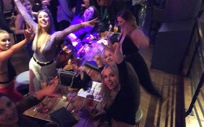 A typical bar night