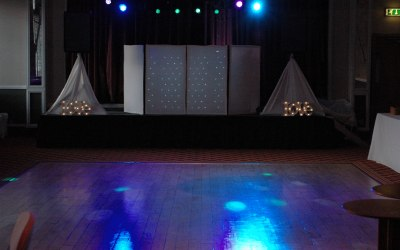 superior sounds wedding set up