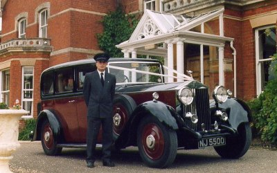 "1935 ""Churchill"" Rolls-Royce and chauffeur (Alan)"