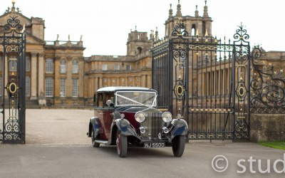 "1935 ""Churchill"" Rolls-Royce at Blenheim Palace"