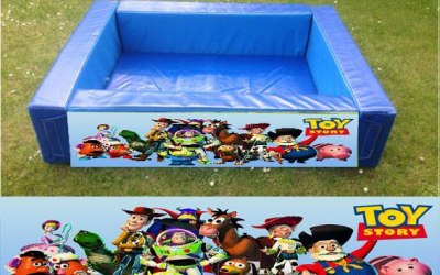 Toy Story themed ball pit