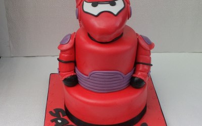 baymax cake from big hero6