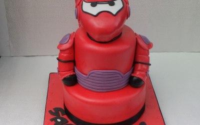 baymax cake from big hero6