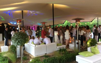 10.5 x 15m = Party time! (photo credit to the Events Architect)