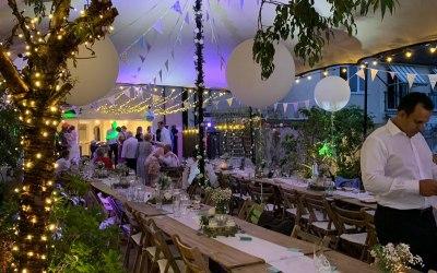 Local wedding reception