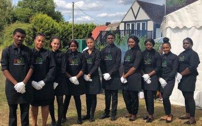 Hospitality Serving Team