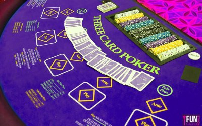 Three Card Poker combines the excitement of poker with the speed of regular casino games