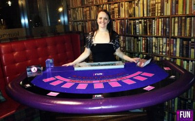 Our popular Blackjack Table