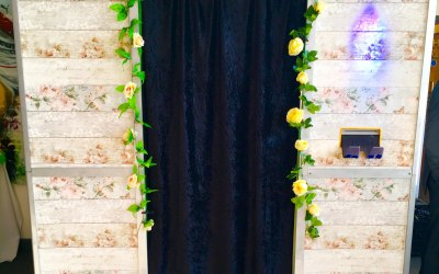 Rustic Themed Photo Booth