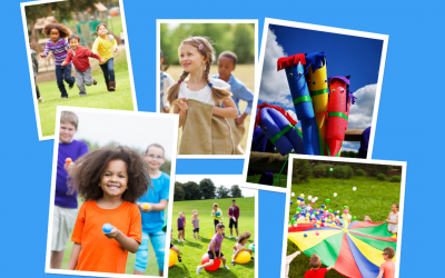Kid Fit Parties games and races