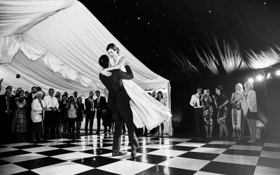 Starlight Lining with Black & White Dance Floor