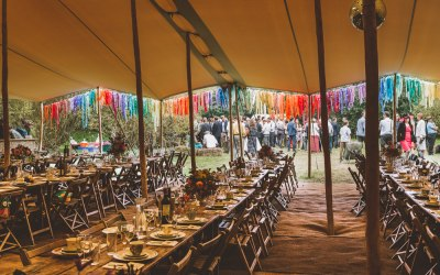 Wedding tent white rose tents