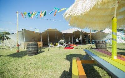 Stretch Tent at Camp Bestival