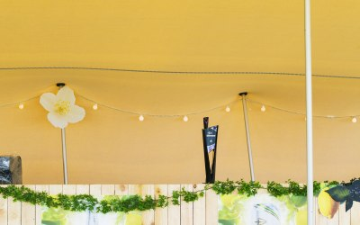 Stretch Tent for Strongbow Bar at the Isle of White Festival