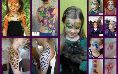 Face Painting, Body Art, Photoshoots