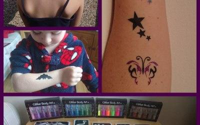 Glitter or Ink Tattoo's