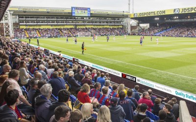 Supporting & Sponsorship at Crystal Palace FC